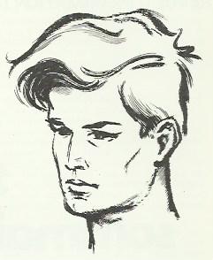 Autoportrait de Pierre Forget.
