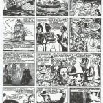 Une page du « Radeau de la méduse ».