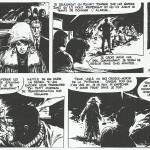 Un extrait des « Yeux du brouillard », la première aventure de Bob Morane où Follet aurait réalisé des crayonnés pour Vance.