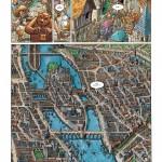 """Une vue générale de Paris, à la 11ème planche de """"Vingt mois avant"""" (Delcourt, 2014)"""