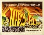 Une affiche inspirée de celle de Ben-Hur (1959) pour Marco Polo en 1961, et son adaptation comic