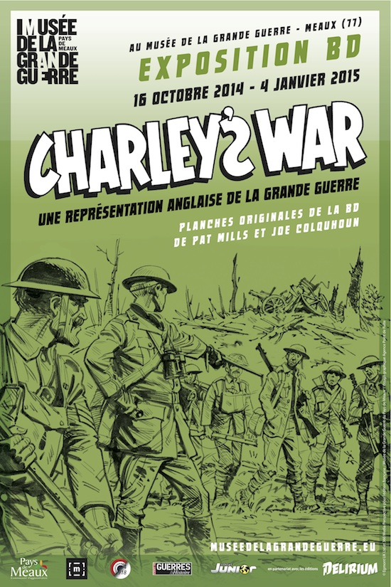 Affiche expo Charleys War