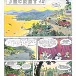 """Le charme des décors : planche 3 de """" Billy the Cat T3 : L'Eté du secret """" (Dupuis, 1994)"""