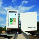 Vue extérieure du Musée Hergé par l'architecte Christian de Portzamparc (photo ©Nicolas Borel et Hergé/Moulisart 2013).