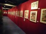 La magnifique exposition Gradimir Smudja réalisée par l'association Sur la Pointe du Pinceau.