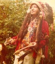 Bob Leguay en Indien.