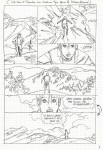 Découpage de la page 8 de « Roxane » version Okapi.