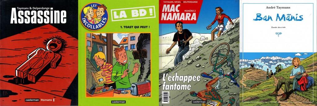 D'autres albums dessinés par André Taymans...