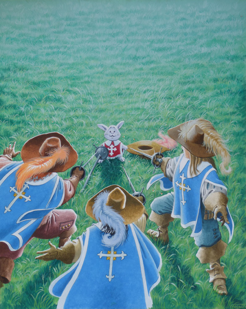 Illustration originale par J.-L. Masbou