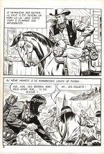 Planche originale de « Buck John » par Bob Leguay pour les pockets Impéria.