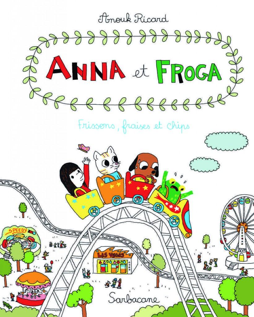 couv Anna et Froga T3