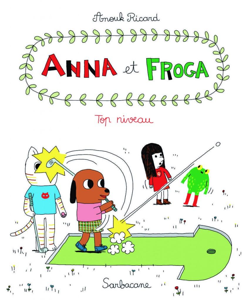 couv Anna et Froga T4