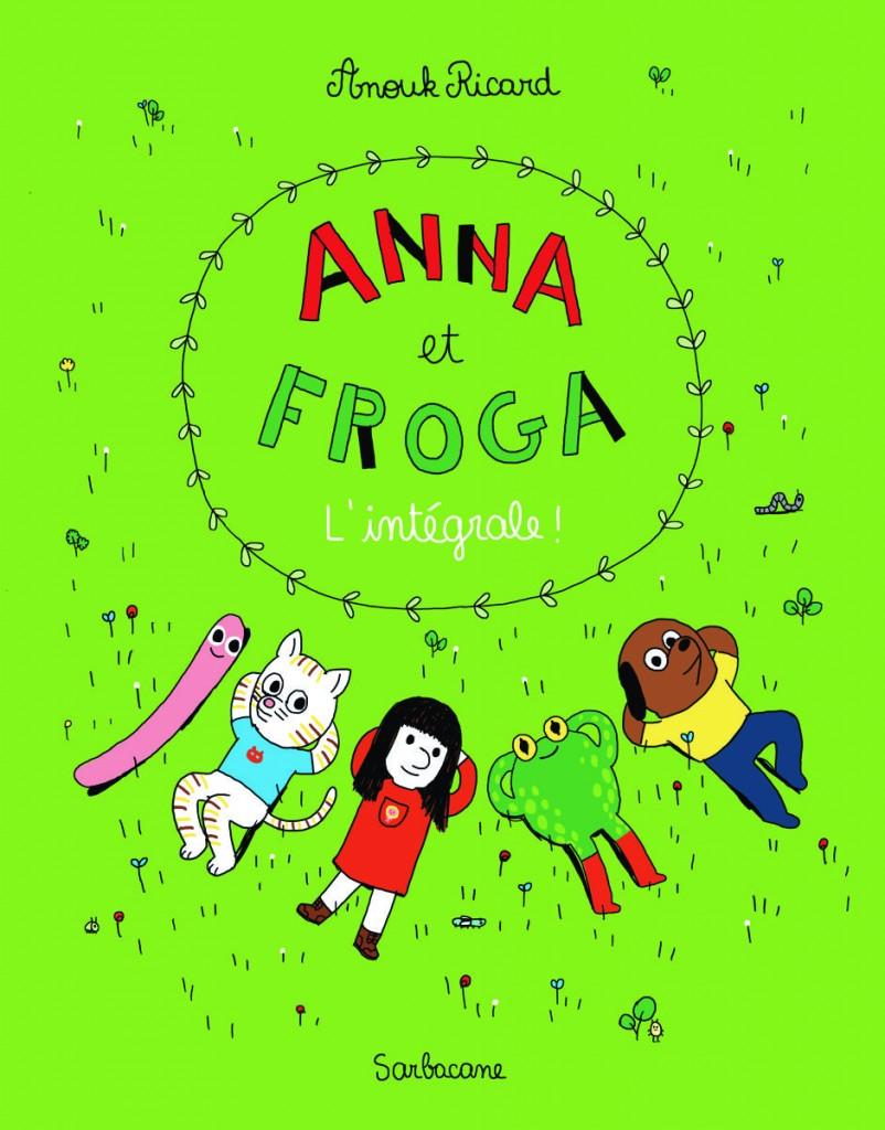 couv Anna et Froga l'integrale