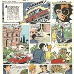 """Alex Lechat, héros des """"Citrouilles diaboliques"""", parues dans le n°1825 du Journal de Mickey en juin 1987"""