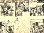 Une BD western commencée pour les éditions Publi-Vog, en 1948.