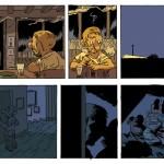 Exemple de mise en couleurs du tome 4, par Patrice Larcenet, frère de Manu Larcenet