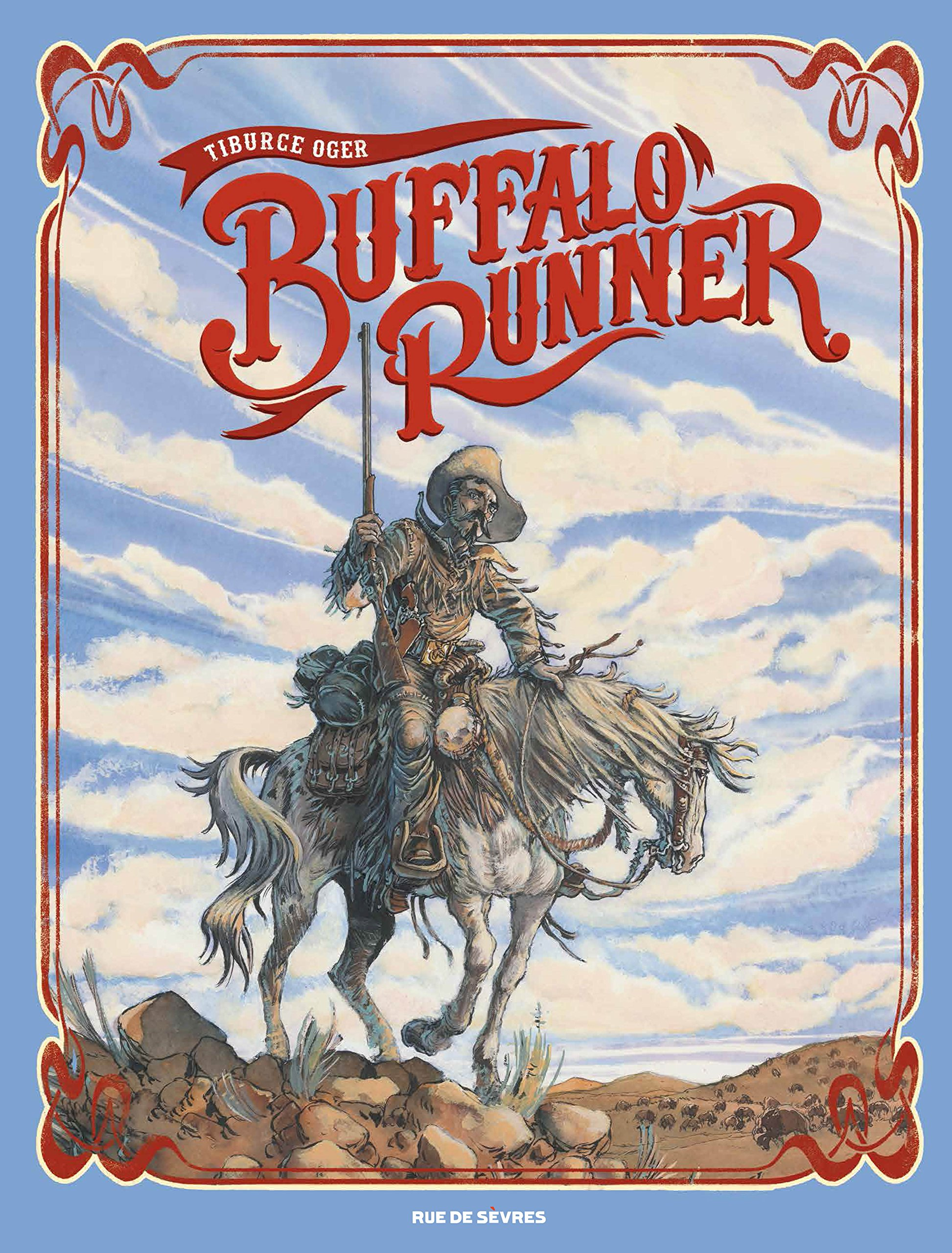 Couverture du tirage grand format de Buffalo Runner (Rue de Sèvres, 2015)