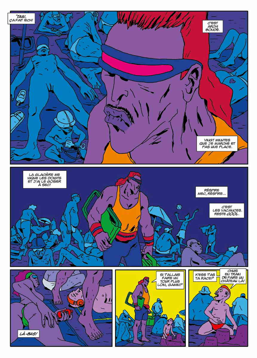 « Big G » par Jean-Louis et Victor Marco, dans le n° 6.