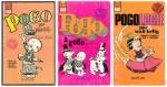 """Les trois """"Pogo"""" parus en poche chez Dupuis dans les années 60"""