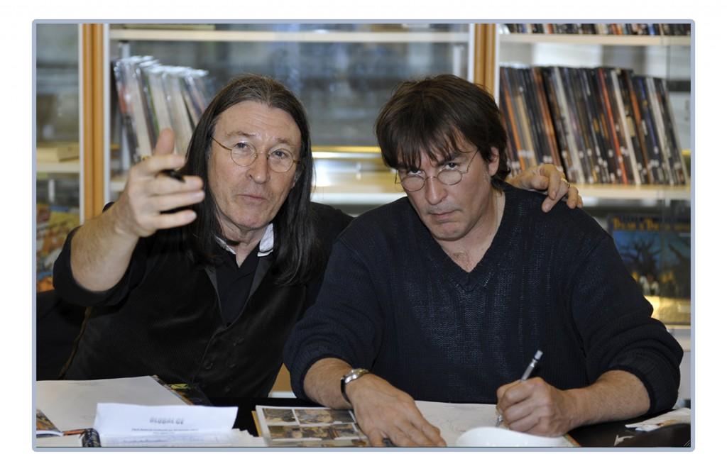 Rodolphe et Christian Maucler.