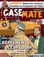 Visuels des magazines Casemate (n°73 d'août 2014) et L'Immanquable (n°45 d'oct. 2014), évoquant l'album ou le prépubliant