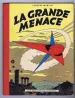 Deux couvertures en écho (Lefranc t.1, J. Martin 1954 et Wunderwaffen t.6, Nolane et Maza, 2014)
