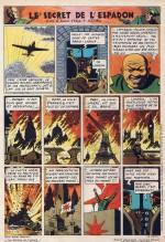 Le 14 novembre 1946 (Tintin n°8, p.12) : une vision dantesque de la 3ème Guerre mondiale
