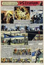 La référence à l'Espadon :  Tintin n°48, page 20, le 14 juillet 1949