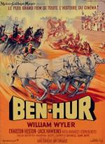 Affiche française pour Ben Hur en 1959 et photo promotionnelle