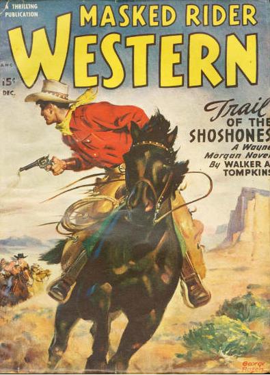 Couverture de The Masked Rider Western n°27 (1er decembre 1949)
