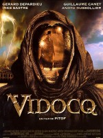 Affiche du film Vidocq (Pitof, 2001), avec Gérard Depardieu dans le rôle titre.