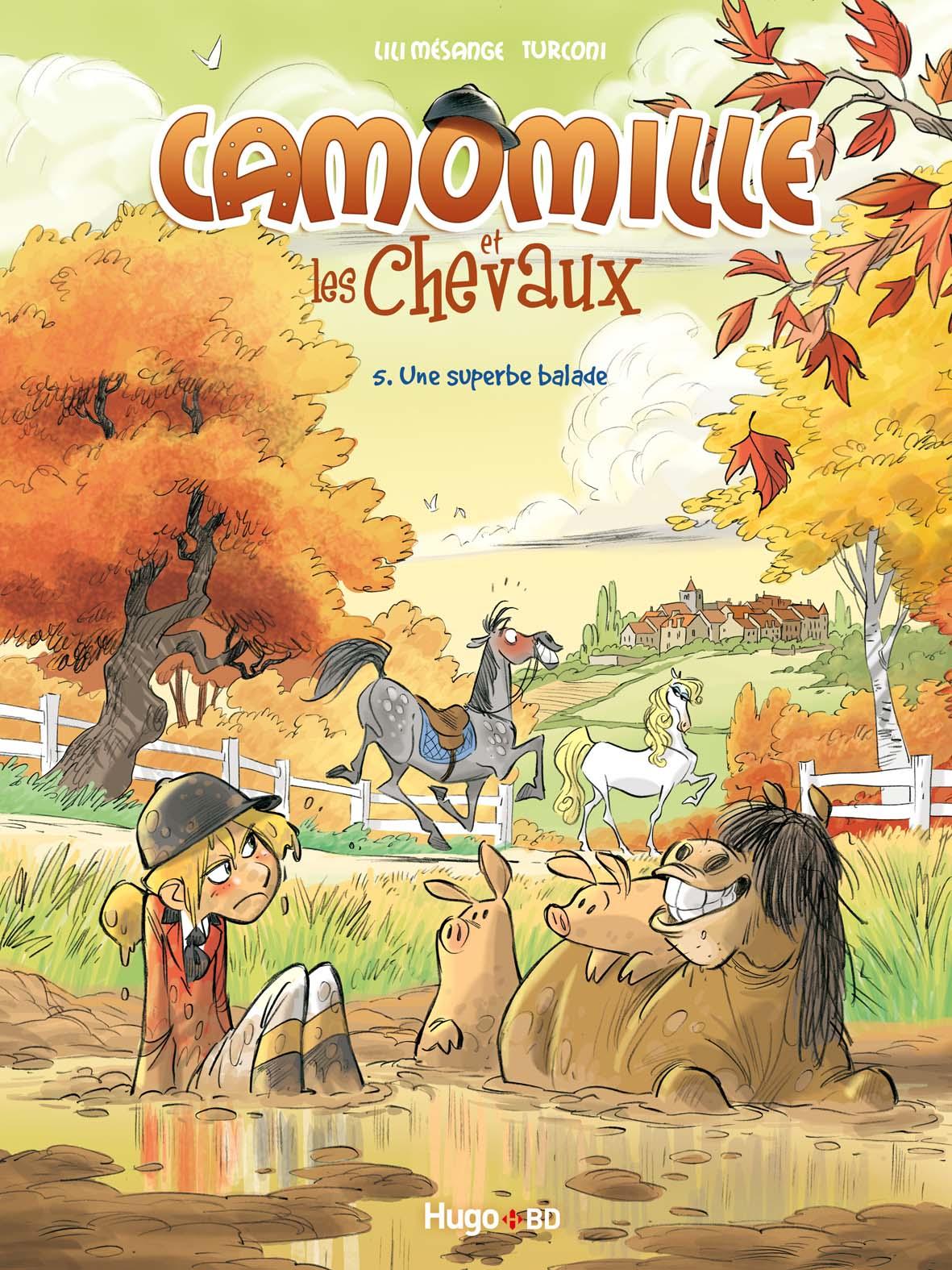 COUVERTURE CAMOMILLE ET LES CHEVAUX  5