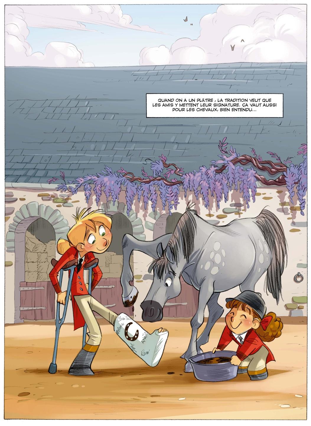 Camomille et les chevaux page 31