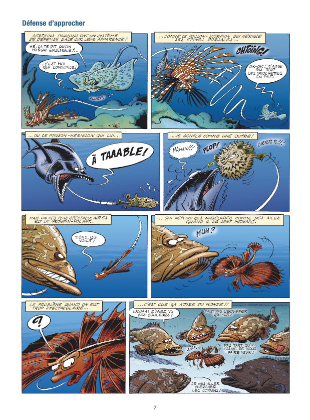 Les animaux marins page 7