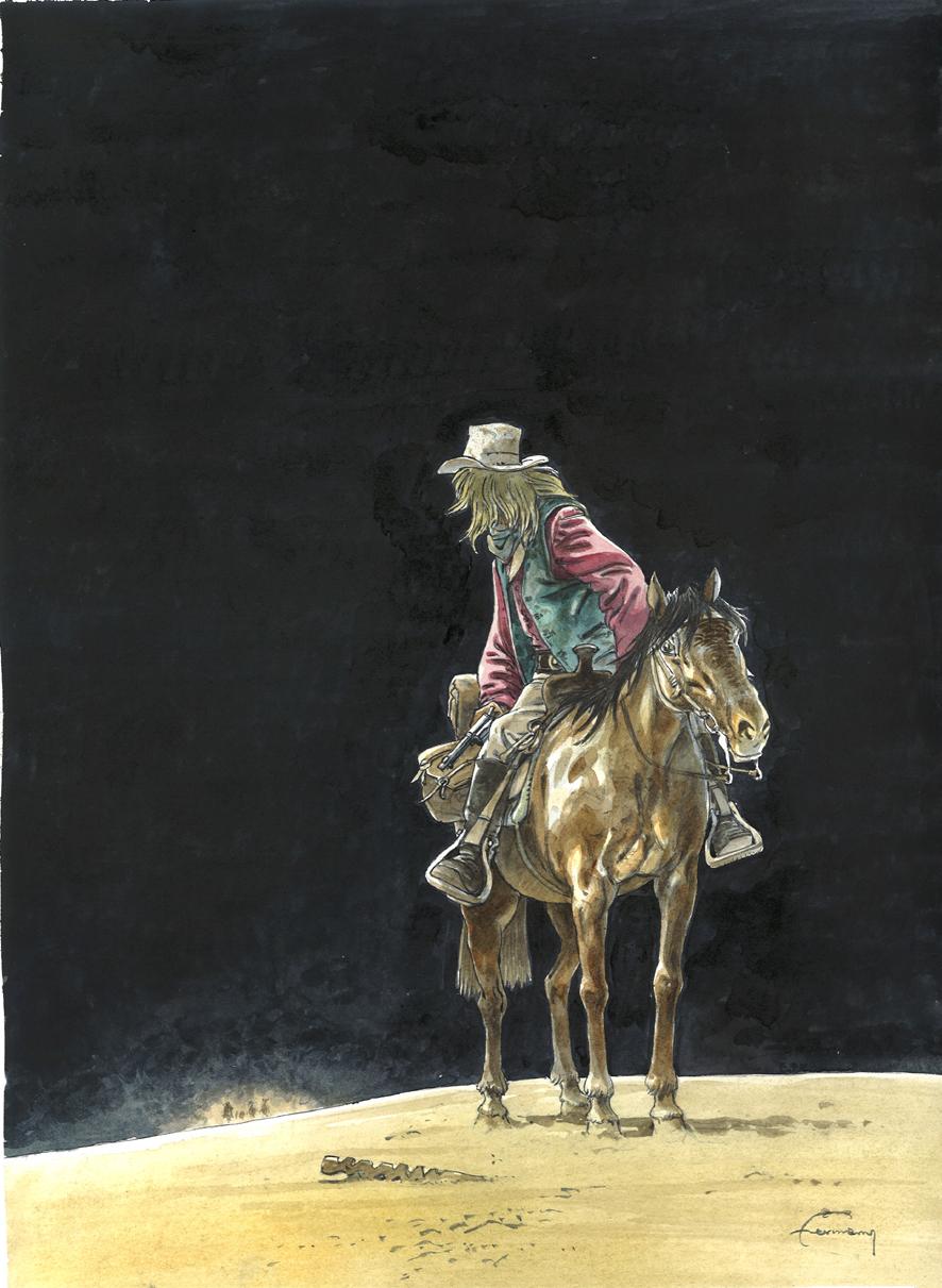 Illustration originale pour la couverture