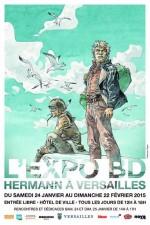 Visuel pour l'exposition consacrée à Hermann (2015)