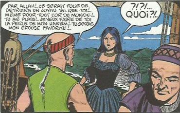 « La Captive des Mores ».