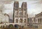 Notre-Dame-de-Paris en 1820