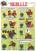 Une page du « Skblllz » dans Tintin.