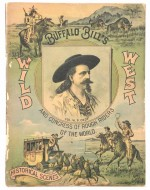 Couverture du livret du spectacle de Buffalo Bill