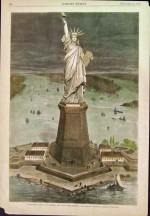 Vue du projet, dans Harper's Weekly du 27 novembre 1875