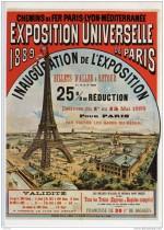 Affiche pour l'Exposition Universelle de 1889