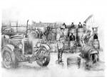 L'univers de la Prohibition (dessin de Jef)