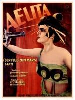 Aelita (affiche allemande).