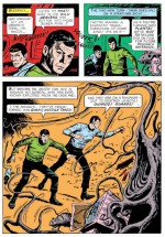 «Star Trek» par Alberto Giolitti aux éditions Gold Key.