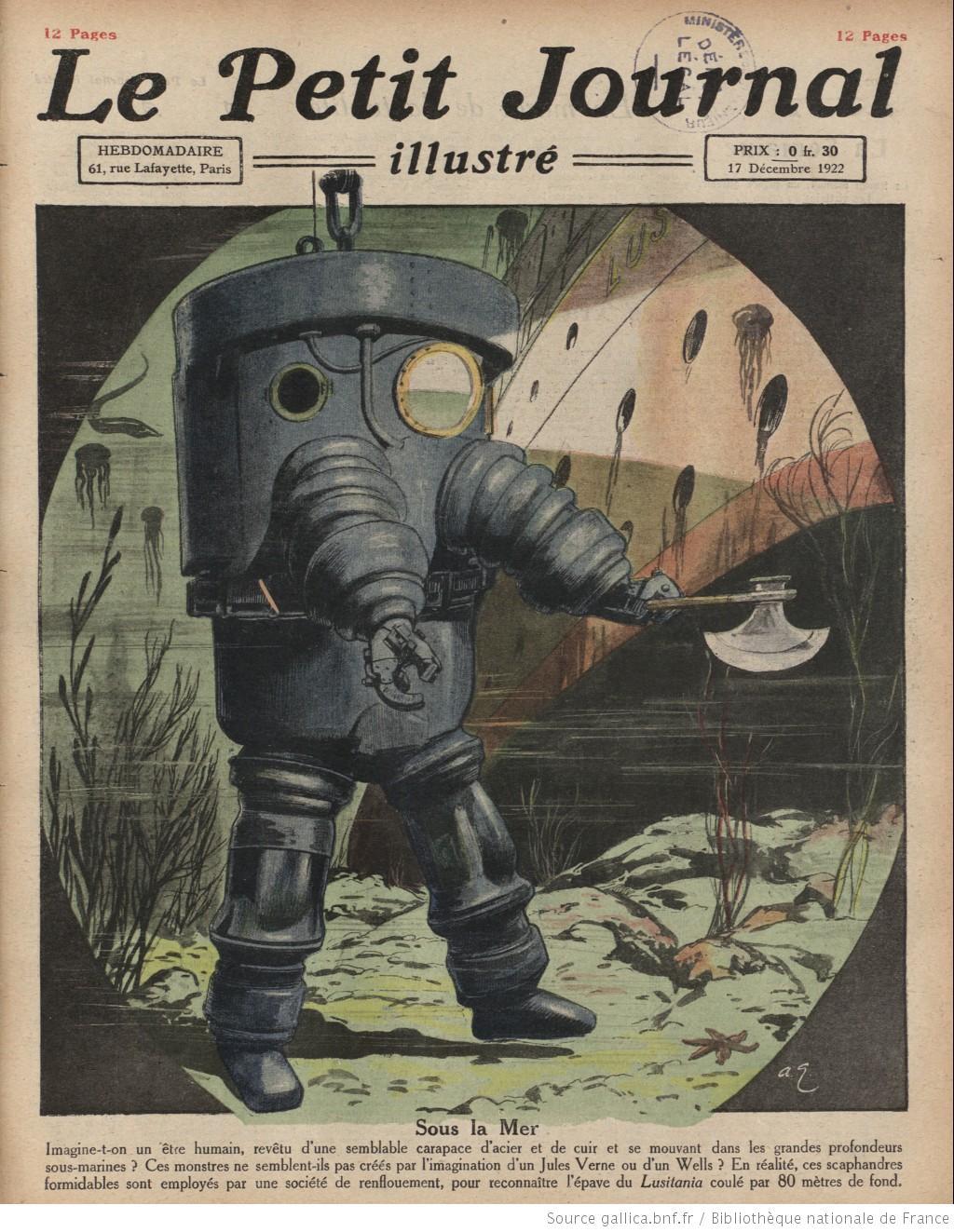 Le Petit Journal Illustré (17 décembre 1922)