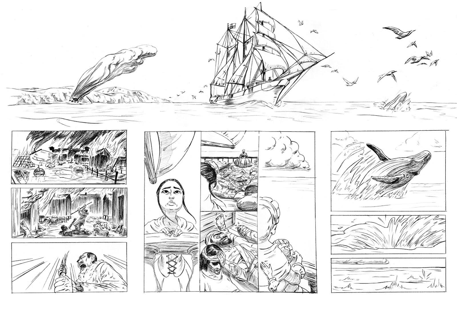 Les origines lointaines de Marie-Angélique Memmie Leblanc... Crayonné par G. Hersent