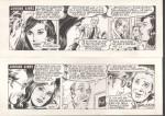 Strips originaux de « Janique Aimée » par Angelo Di Marco.