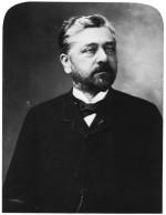 Gustave Eiffel en 1888 (photo par Nadar)