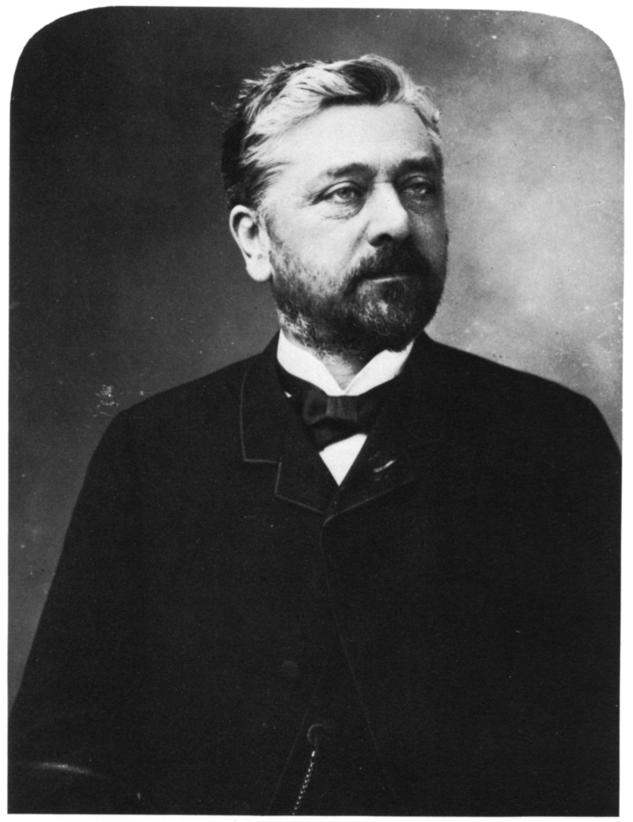 Gustave Eiffel en 1888 (photo par Nadar)